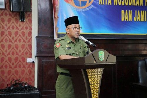 Walikota Tanjungpinang Lis Darmansyah Buka Sosialisasi Peraturan Pertanahan