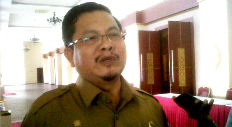 Kepala Biro Pembangunan Pemerintah Provinsi Kepri, Sadirson di Dompak Tanjungpinang.